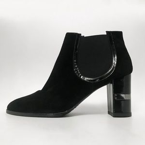 STUART WEITZMAN Block Heeled Chelsea Boots